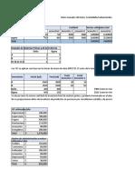 Ejercicio de Presupuesto