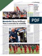 La Provincia Di Cremona 01-10-2018 - Mandorlini