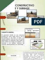 Base y Sub base