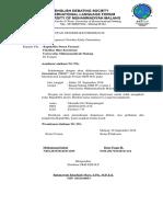 Surat Dispensasi NEO