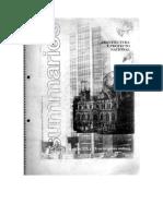 SUMARIOS, arquitectura y proyecto nacional - Manuel Cuadra