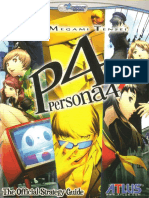 Persona 4 DoubleJump Official Strategy Guide