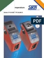 Tp 38 000 - Precision Temperature Calibrators