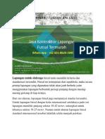 SPESIAL UNTUK PEMBELI, Jasa Kontraktor Lapangan Futsal Termurah, WA 0821-8620-5040 2