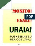 MONEV Uraian Tugas Sesuai Struktur Pkm PANDU