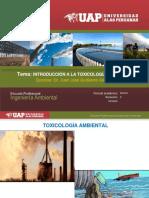1. Introducción a La Toxicología Ambiental