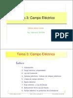 Tema3.PDF Campo Electrico