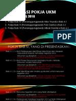 Presentasi Pokja UKM