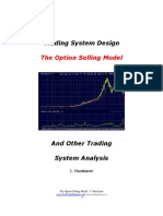 Trading System Design - The Options Selling Model