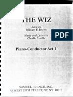 Wiz - Complete Score