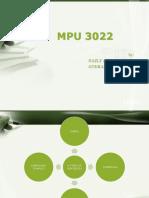MPU 3022