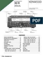 Ham.dmz.Ro.ts-2000X Service Manual