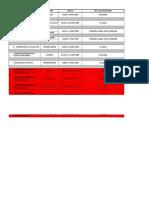 Jadwal Program Kesehatan 2018