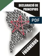 Declaracion de Principios - Fogoneros