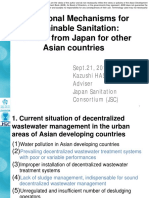 Institutional Mechanisms for Sustainable Sanitation
