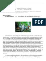 ESOTERISMO Y ESPIRITUALIDAD_ LA NEUROCIENCIA Y EL DESARROLLO DEL SER INTERNO ( I ).pdf