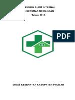 Dokumen Audit Internal Puskesmas Nawangan