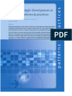 Distributed Agile Development at Microsoft Patterns and Practices