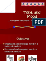 Styles Tone Mood Presentation