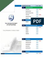 CAAP Telephone Public Directory