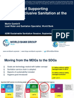 Funding and Supporting Citywide Inclusive Sanitation at the World Bank