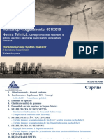 Prezentare Workshop Cerințe Tehnice Pentru Generatoare Sincrone OTS-OD-ANRE-Producători (1)