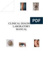 Clinical Sciences Diagnosis Laboratory Manual July 2008