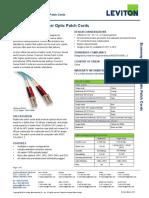 Leviton Economy Series Fiber Patch Cords