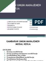Gambaran Umum Manajemen Modal Kerja