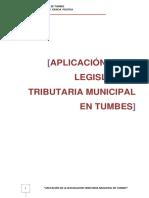 Aplicacion de La Legislacion Tributaria en Tumbes