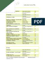 livros do PNL na EB 2,3 (última versão Out 2010)