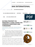 Legal guide to invest in Pakistan