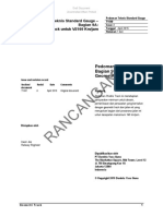 Rancangan Pedoman Teknis Geometri Jalan Rel Standard Gauge