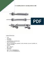 Cilindro Neumático y Valvula