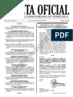Gaceta Oficial 41080 Normas Equidad de Género MINJPP