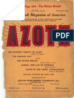 Azoth June 1920