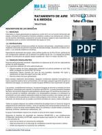 Tarifa PVP 2018 Climatizacion por Agua (SalvadorEscoda)