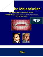 Open Bite Malocclusion