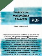 Didática Da Matemática Francesa e Álgebra