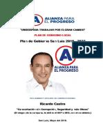 Plan de Gobierno- Alianza Para El Progreso- San Luis