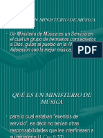 QUE ES UN MINISTERIO DE MUSICA I.ppt