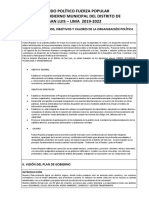 Plan de Gobierno de Fuerza Popular- San Luis
