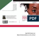 Mujeres Afrodescendientes en El Sur de Brasil. Percepciones Bajo Las Dimensiones de Justicia