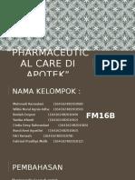 Pharmaceutical Care Di Apotek
