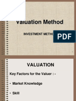 Investment Method Yield