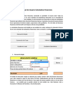 Manual Calcula Dora Financier A