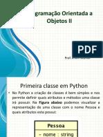 Classe em python