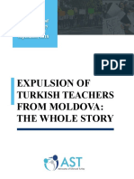 Report Expulsion of Turkish Teachers From Moldova the Whole Story