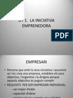 Ut 1. La Iniciativa Emprenedora m1