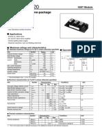 Moduł Igbt Mg25j2ys40 25a 600v Toshiba Datasheet (1)